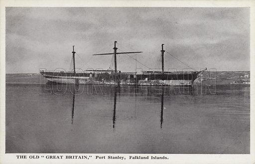 The Old Great Britain, Port Stanley, Falkland Islands.