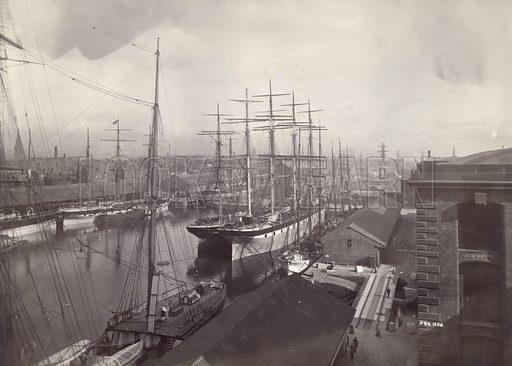 Salthouse Dock, Liverpool, June 1897.