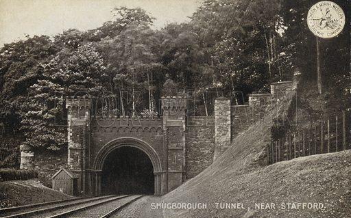 Shugborough Tunnel, near Stafford.