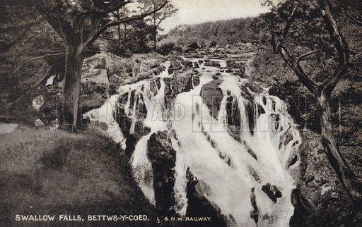 Swallow Falls, Bettws-y-Coed.