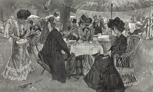 Afternoon Tea, picture, image, illustration