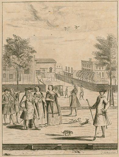 St James's Park, The Mall, 1732.