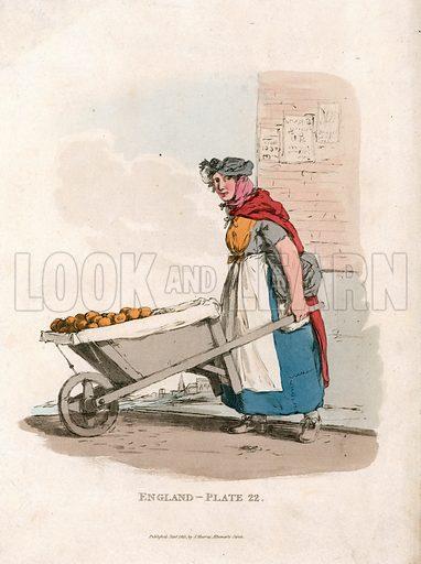 Potato seller. Cries of London.