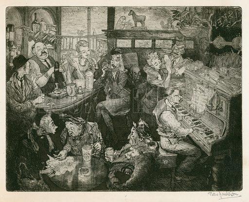 pub, picture, image, illustration