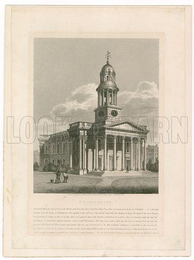 St Marylebone Church.