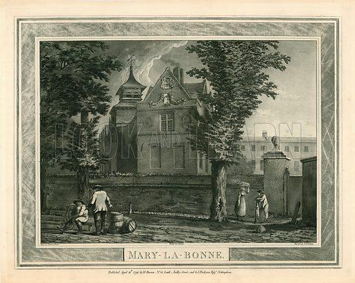 Marylebone Palace. Published 1791.