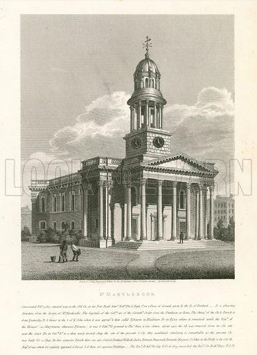 Church of St Marylebone, London.