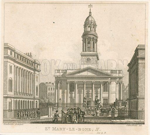 St Marylebone Church, London.