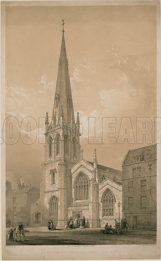 St Andrew's Church, Marylebone, London.