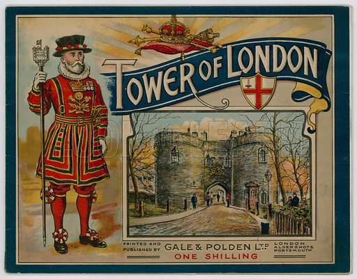 Cover of guide to the Tower of London.