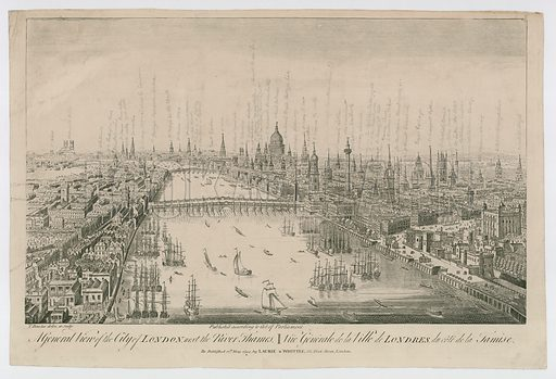 A General View of the City of London. Republished 1794.