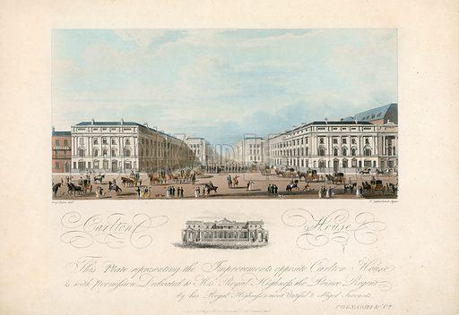 Carlton House. Published 1817.