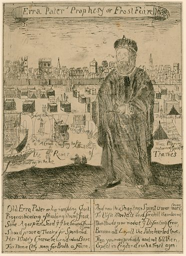 Erra Pater's Prophesy of Frost Faire 1685.