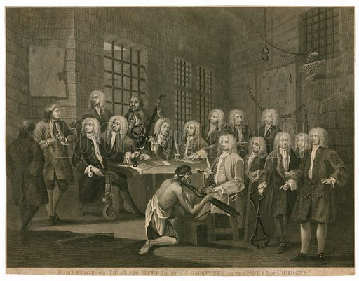 Bambridge on trial for murder by a committee of the House of Commons.