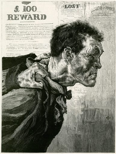 The British Rough. From The Graphic 26 June 1875.