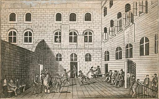 Newgate prison.