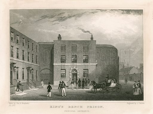 King's Bench Prison, London.