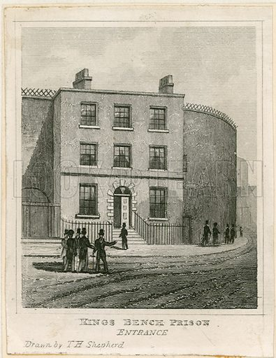 King's Bench Prison, London.