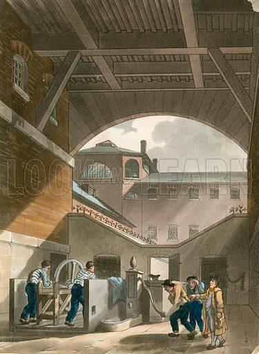 Waterbath, Coldbath Fields Prison.