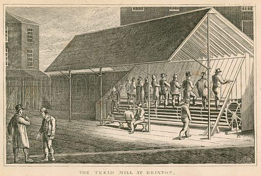 The treadmill at Brixton prison.