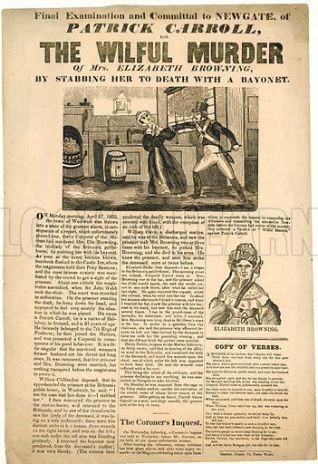 Wilful murder of Mrs Elizabeth Browning. 1835.