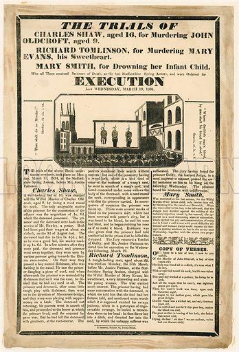 Murder trials 1834.