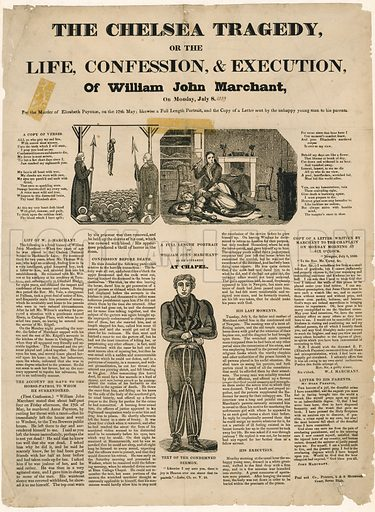 Execution of William John Marchant, 8 July 1839.