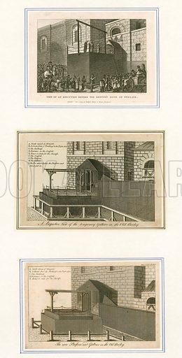 Executions at Newgate.