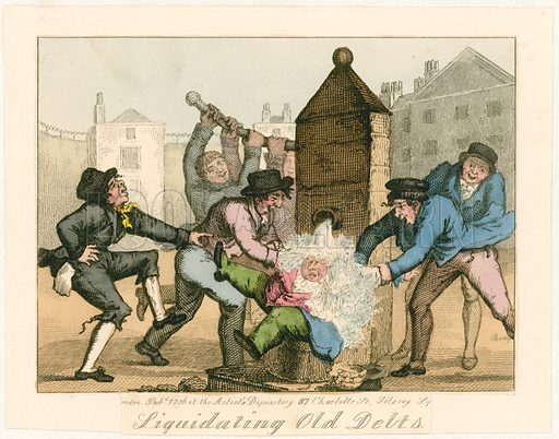 Liquidating old debts, 1826.
