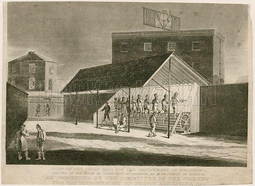 Treadmill at Brixton prison.