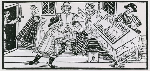 Arden of Feversham. Woodcut in the first edition, 1592.