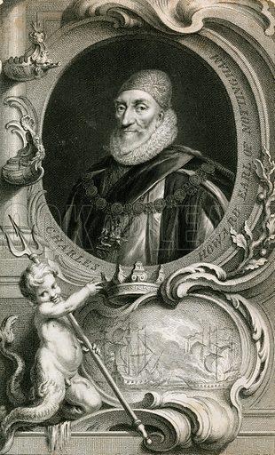 Lord Howard of Effingham, Armada Admiral of the Fleet.