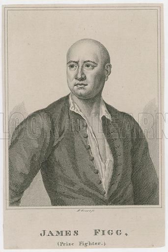 James Figg, prize fighter.