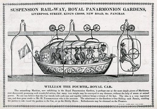 Suspension railway, Royal Panarmonion Gardens.