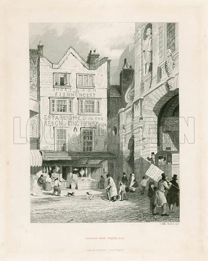 Temple Bar, London. Old Bulk Shop.