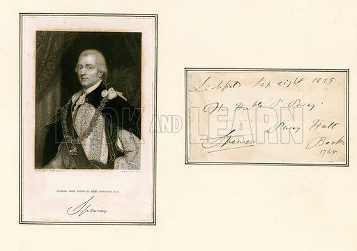 George John Spencer, Earl Spencer.
