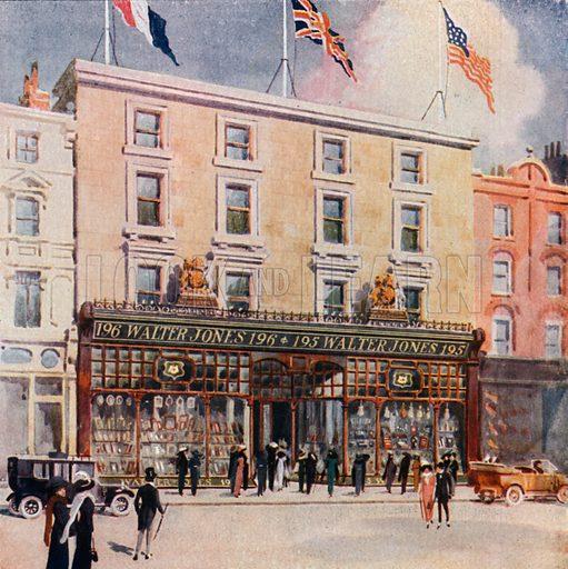 Walter Jones, 1995/196 Sloane Street. From London's Social Calendar (Savoy Hotel, c 1915).