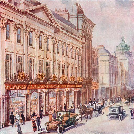 JC Vickery of Regent Street. From London's Social Calendar (Savoy Hotel, c 1915).
