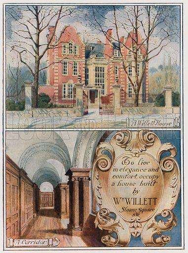 A Willett House. From London's Social Calendar (Savoy Hotel, c 1915).