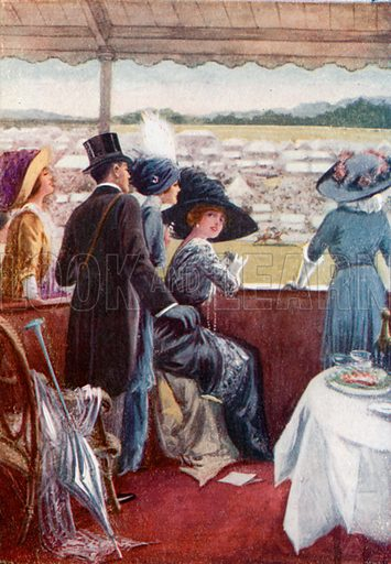 The Derby. From London's Social Calendar (Savoy Hotel, c 1915).