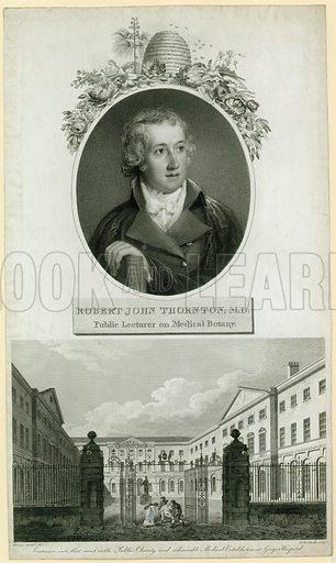 Professor John Thornton, Public Lecturer on Medical Botany.