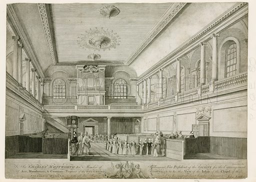 Chapel of the Foundling Hospital.