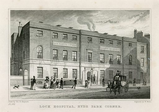 Lock Hospital, Hyde Park Hospital.