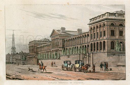 St Luke's Hospital for Lunatics, Old Street.