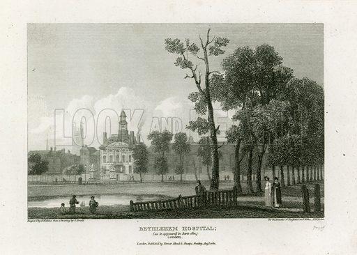 Bethlehem Hospital. As it appeared June 1811.