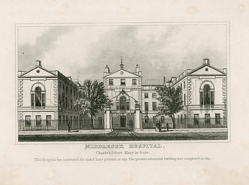 Middlesex Hospital.