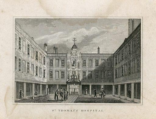St Thomas's Hospital.