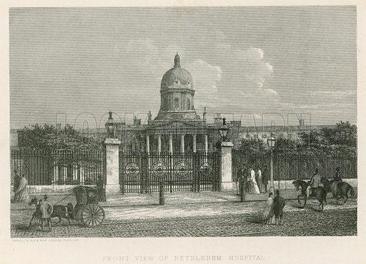 The Bethlehem Hospital.