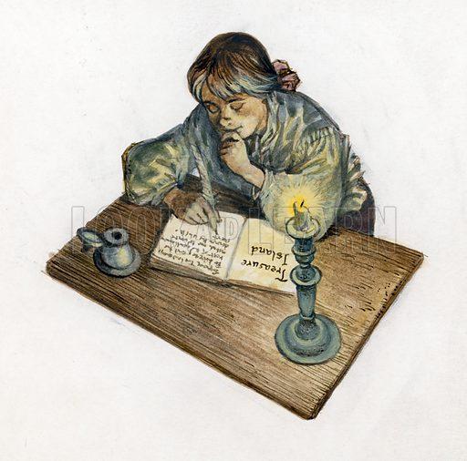 Illustration for Treasure Island.
