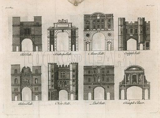 London Gates. 1750.